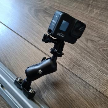 Kugel-System Set für Action Cam GoPro und weitere