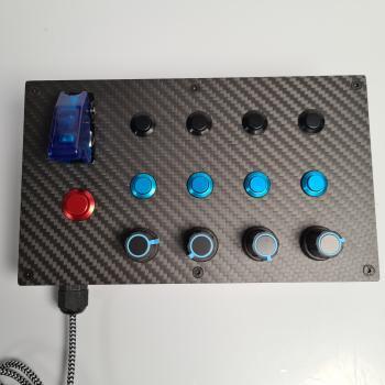 Densu Racebox M v2 - USB Buttonbox für PC
